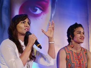 Wrestler-sisters Geeta and Babita Phogat during an International Women's Day function