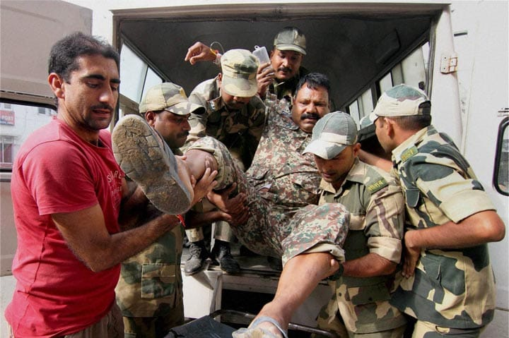 injured, BSF jawan, Government Medical College Hospital,  firing, Pakistani side, border, Jammu