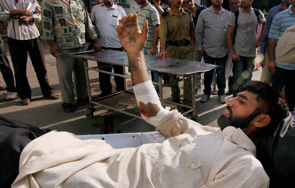 injured, man, Government Medical College Hospital, firing, Pakistani side, border, Jammu