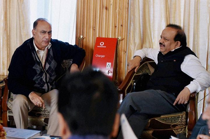 Union Health Minister, Harsh Vardhan, Union Home Secratary, Anil Goswami, Srinagar