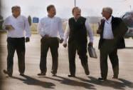 Union Health Minister Harsh Vardhan arrives in Srinagar