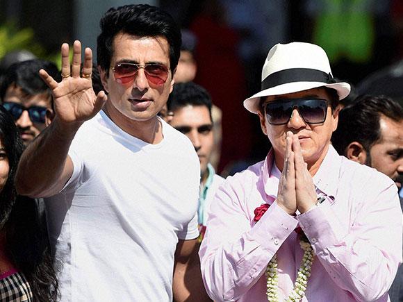 Kung FU Yoga, Jackie Chan, Sonu Sood, Mumbai