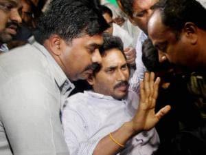 YSR Congress President Y S Jaganmohan Reddy