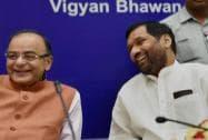 Arun Jaitley with Ram Vilas Paswan