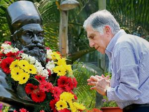 Rata Tata on the his 178th Birth Anniversary in Jamshedpur