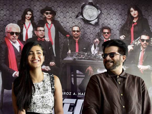 Anil Kapoor, Shruti Hassan, Welcome Back, Welcome Back Trailer