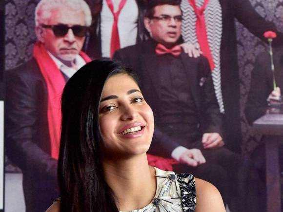 Shruti Hassan, Welcome Back, Welcome Back Trailer