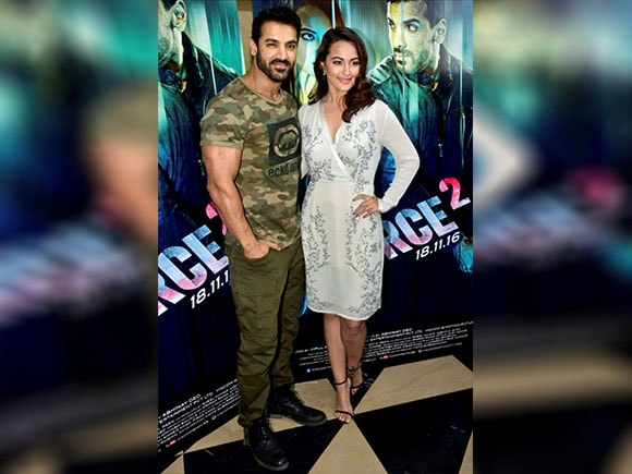 Force 2, Sonakshi Sinha, John Abraham, trailer launch, Tahir Raj Bhasin