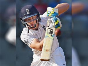 England batsman Jos Buttler plays a shot