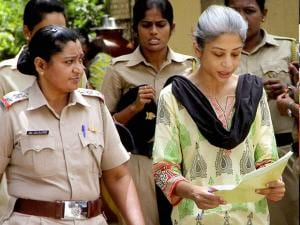 Sheena Bora Murder case accused Indrani Mukerjea being taken to the Session Court in Mumbai