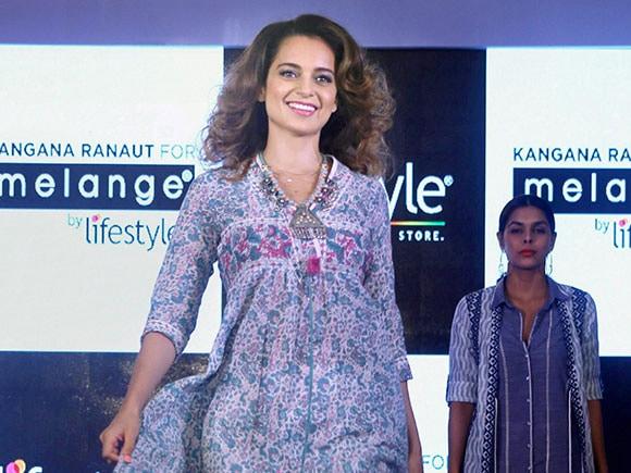 nepotism, Kanagna Ranaut, Melange, Lifestyle, Rangoon, fashion event, summer collection, Mumbai