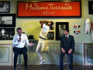 Former Indian Cricket Caption Kapil Dev along with the Director of Merlin Entertainments India Anshul Jain