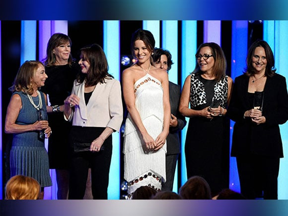 Women in Film 2016 , Kate Beckinsale,  Lucy Awards, Beverly Hilton, Pearl Harbor Actress