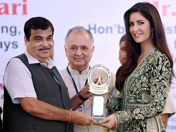 Katrina Kaif, Smita Patil, Smita Patil Memorial award, award