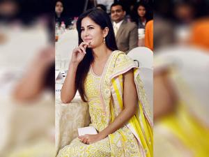 Katrina Kaif during the conference on gender equality, women leadership and entrepreneurship