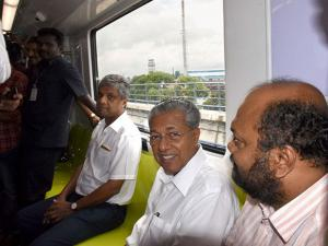 Minister in-charge of Kochi Metro