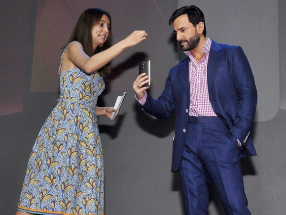 Saif Ali Khan, Asus, Asus ZenFone 2, India, Launch, Gurgaon, Haryana