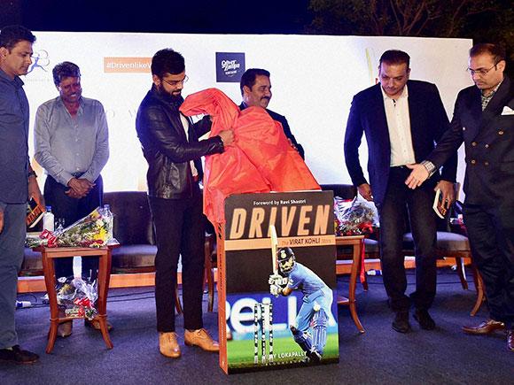 Driven, Virat Kohli, Anil Kumble, Kapil Dev, Ravi Shastri, Virender Sehwag, Rajkumar Sharma