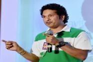 Legendary Cricketer Sachin Tendulkar during the launch of Kaspersky Kids