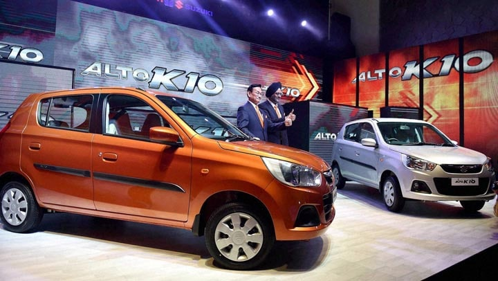 MD & CEO, Kenichi Ayukawa, Executive Director, Marketing & Sales, launch, Maruti Suzuki's, next generation, Alto K10