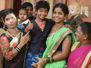 Sunny Pawar being accorded warm welcome by family and relatives on his return
