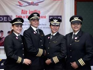 Air India creates history- to fly world's first all-women operated longest flight