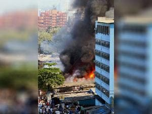 fire at Oshiwara in Mumbai
