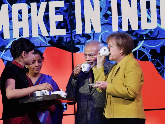 Prime Minister of India, Narendra Mod, German Chancellor, Angela Merkel, Germany, Make in India, Modi, Commerce and Industry Minister of India, Nirmala Sitharaman