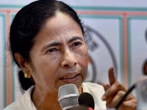 West Bengal CM Mamata Banerjee addresses the media after the party's thumping win in West Bengal Assembly elections, in Kolkata (2)