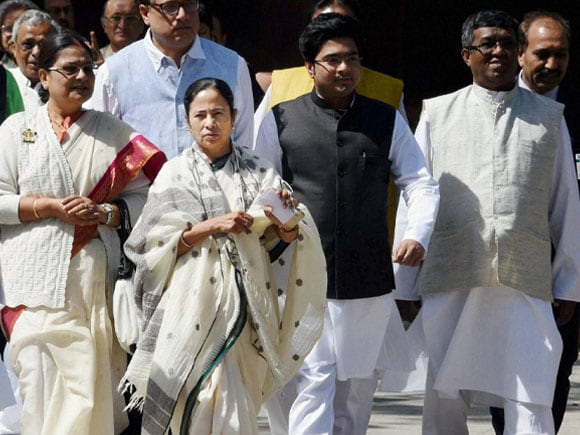 West Bengal Chief Minister, Mamata Banerjee, Prime Minister of India, Narendra Modi,  Amit Mitra, Sanjay Mitra, Parliament