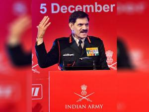 General Dalbir Singh addresses the Army Technology Seminar