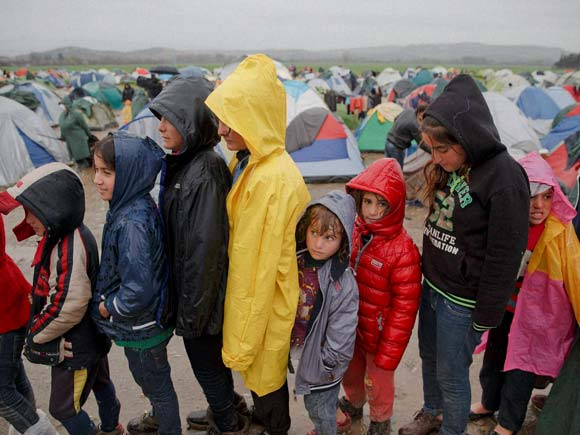 Migrants in Greek islands, Migrants Europe Syria, Migrants Europe News, Migrants Europe Crisis, Idomeni Migrants, Greek Border Refugees