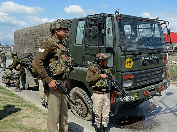 Army Truck attack, militants hospital, Parimpora, Panthachowk bypass, Srinagar