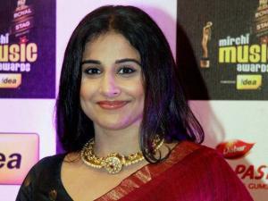 Vidya Balan during the 8th Mirchi Music Awards in Mumbai