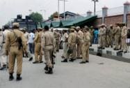 Heavy Police personnel deployed around Civil Secretariat