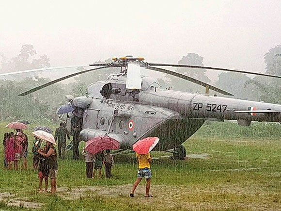 Kiren Rijiju, Union minister, Helicopter crash, all safe