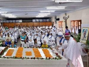 A view of the celebration of 105th birth anniversary