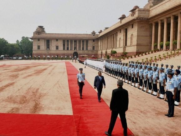 Mozambique President, India, Filipe Nyusi, President of Mozambique, Rashtrapati Bhavan, New Delhi