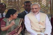 Prime Minister Narendra Modi and Sushma Swaraj