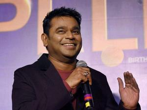 Music Composer A R Rahman during the music launch of the movie 'Pele' in Mumbai (3)