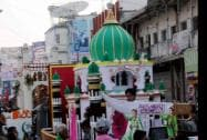 Muslims particpate in a Muharram procession in Ranchi