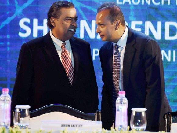 Ambani, Mukesh Ambani, Anil Ambani, Narendra Modi, Digital India, India, Nita Ambani, Reliance, Anant Ambani, Akash Ambani, Reliance Industries Ltd, Mumbai