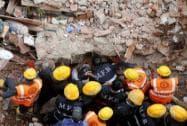 Building collapses in Thakurli