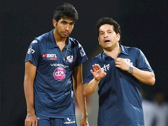 Sachin Tendulkar, Jasprit Bumrah, IPL, IPL Pepsi, Mumbai Indian, Rajasthan Royal