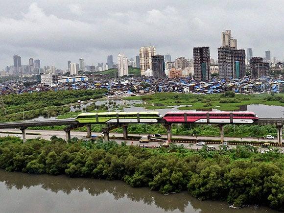 mumbai monorail, monorail in mumbai, mumbai metro, mumbai monorail route, mumbai monorail route, mumbai monorail route
