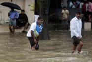 Mumbai hit by heavy rains