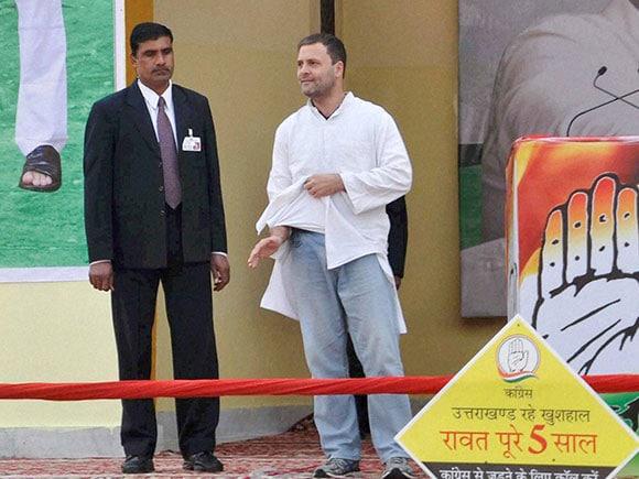 khadi kurta, Rahul Gandhi, Congress, INC, election rally