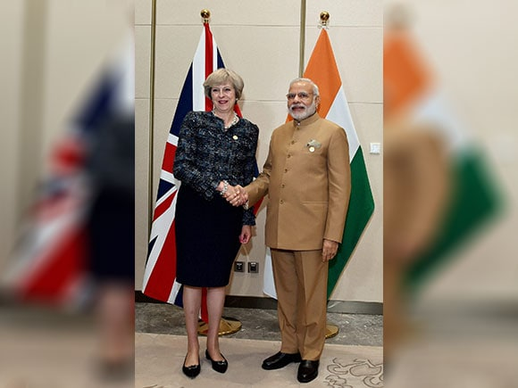 G20 summit, Narendra Modi, Theresa May, India Prime Minister, UK Prime Minister, Hangzhou