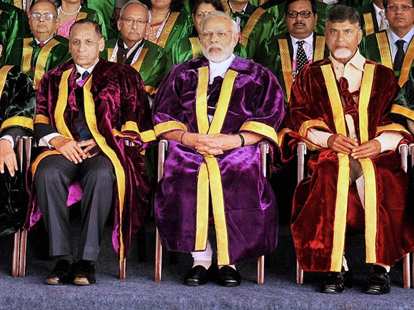Indian Science Congress,  Venkateswara University, Narendra Modi, Chandra Babu Naidu, Science Congress