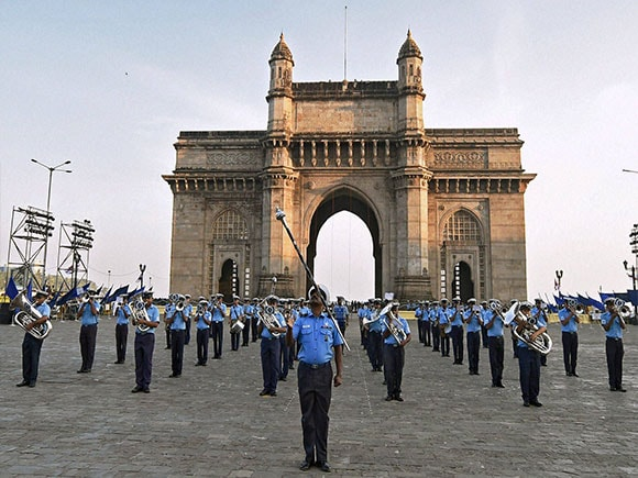 Navy Day, beating retreat, Beating the Retreat, Indian Navy